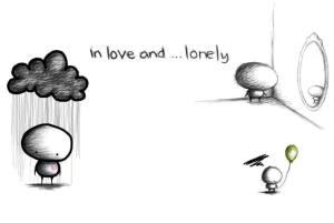 enamorado y solo